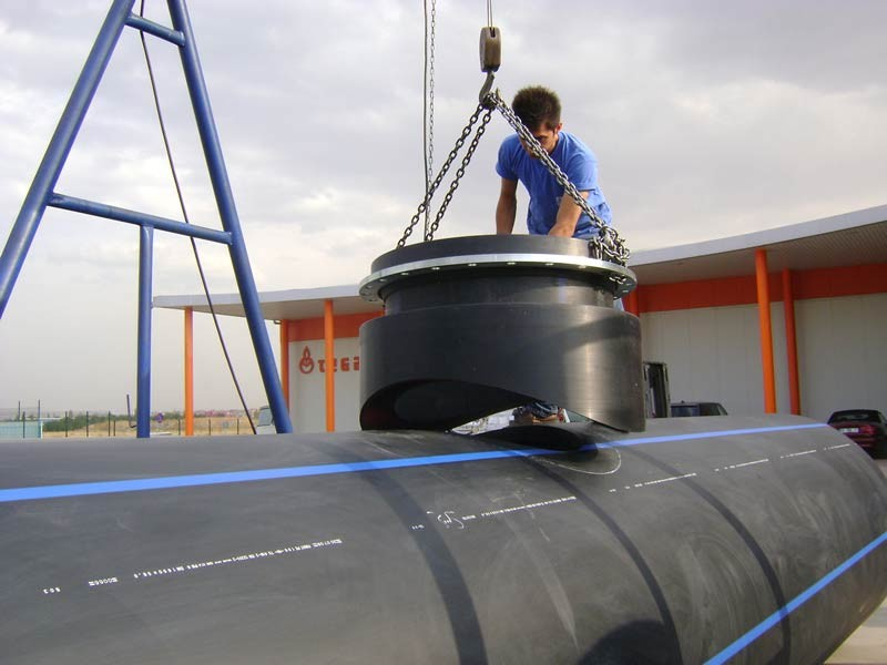 HDPE pipe installation, repair, maintenance company in infrastructure 5