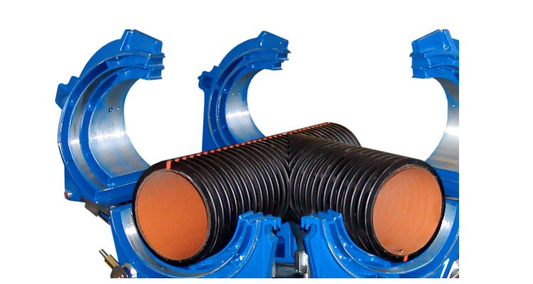 HDPE or plastic or PVC pipe wielding machine